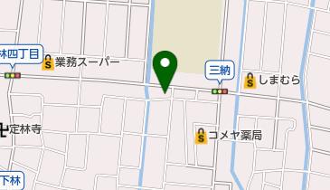 たい焼き工房土九の地図画像