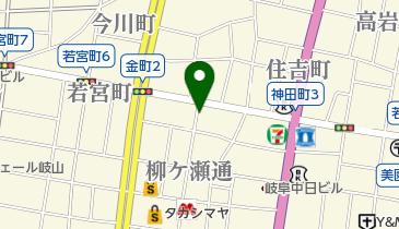 ナイトインギフプレイガイドセンターの地図画像