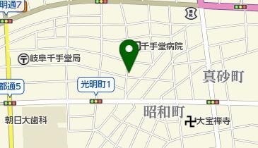 井上酒店の地図画像