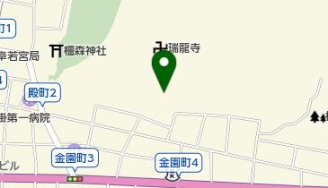 瑞龍寺僧堂の地図画像