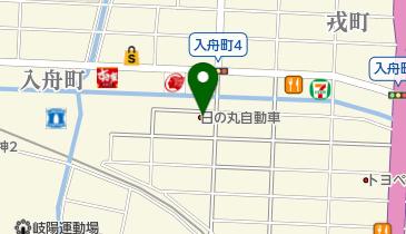 岐阜市周辺観光タクシーの地図画像