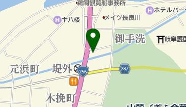 日の丸タクシー 長良橋の地図画像
