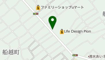 個人タクシー無線配車センターの地図画像