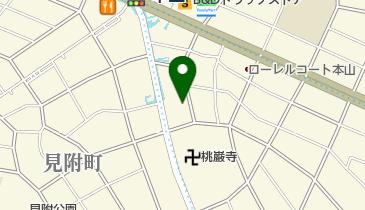 椿山荘の地図画像