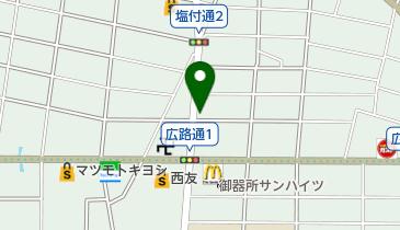 酒のつぼいの地図画像