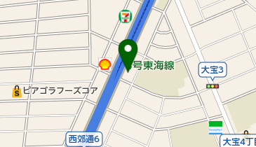 小松屋Yショップの地図画像
