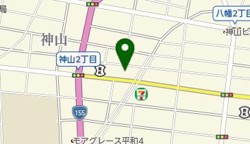 名鉄協商 神山駐車場の地図画像