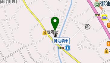 御油公民館の地図画像