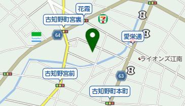 江南市役所 老人福祉センターの地図画像