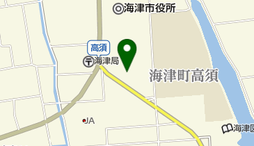 海津市観光協会の地図画像