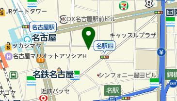 つくね屋本舗名駅店の地図画像