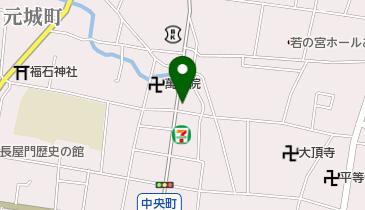 投げ矢本舗の地図画像