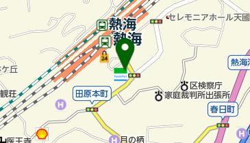 みやま熱海駅前の地図画像