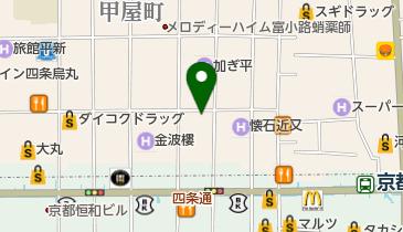 京一屋の地図画像