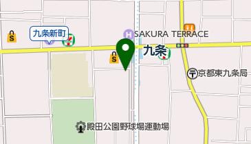 ピザ・リトルパーティー 九条店の地図画像