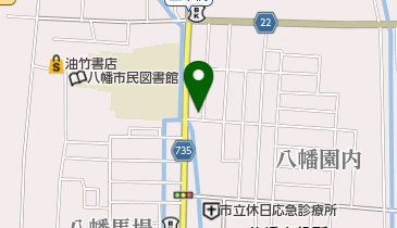 スナックパルコの地図画像