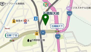 日本メノナイトブレザレン教団石橋キリスト教会の地図画像