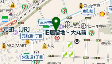 三宮神社の地図画像