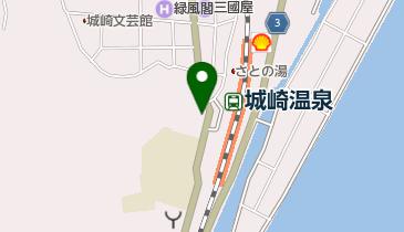 城崎温泉観光協会の地図画像