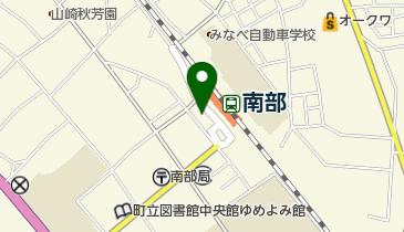 南部タクシーの地図画像