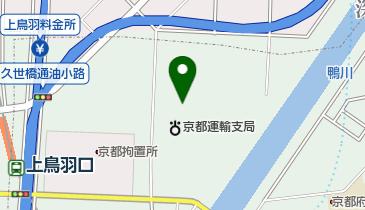 全京都個人タクシー共済協同組合の地図画像