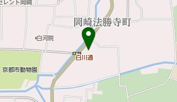 流響院の地図画像