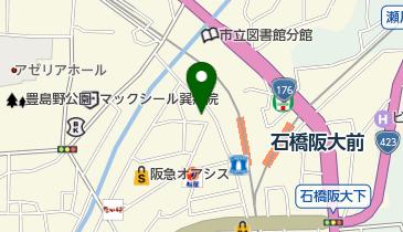 サウザンドカラー石橋店の地図画像