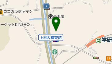 きんのぶた北生駒上町店の地図画像