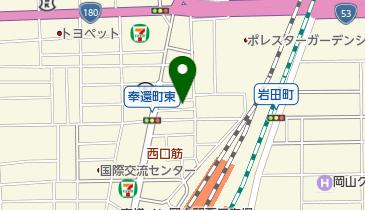 喜楽会館の地図画像