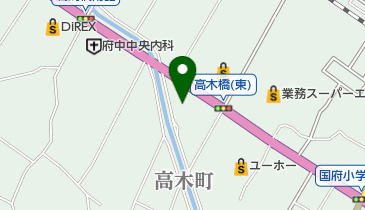 広島ガス東中国株式会社府中支店の地図画像