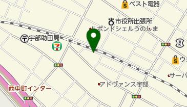 宇部ダンス教室の地図画像