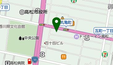 高松丸亀町商店街振興組合 町営丸い亀さんの地図画像