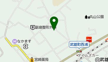 油屋旅館の地図画像