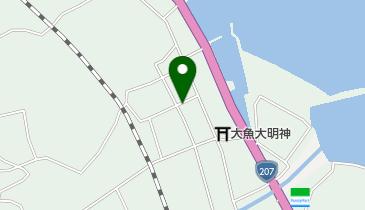 居酒屋峰松の地図画像