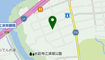 熊本市個人タクシー親交事業協同組合の地図画像