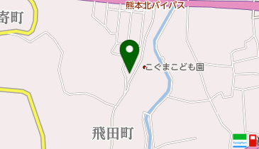 熊本東峯タクシーの地図画像