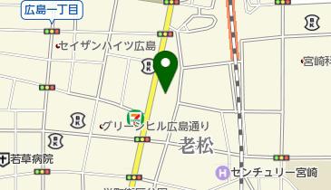 宮崎県小売酒販組合連合会の地図画像