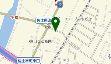 佐土原みやこタクシーの地図画像