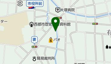ショッピングのだ青果部西都店の地図画像