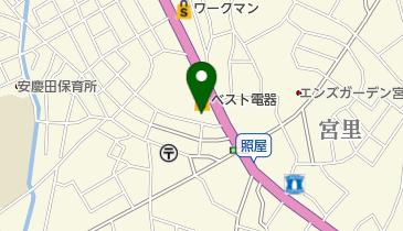 ブックオフコザ店の地図画像