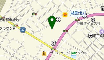 コザBOXの地図画像