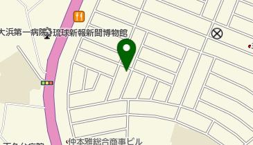 シーマックスダイビングクラブ沖縄の地図画像