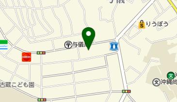 ブックオフ那覇与儀店の地図画像
