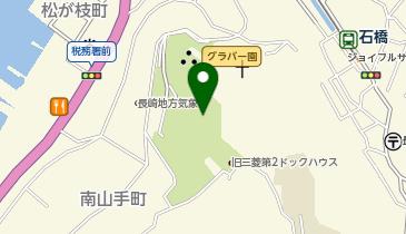 グラバー園の地図画像