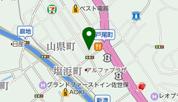 ららばいの地図画像