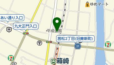 福岡マスジドアンヌールイスラム文化センターの地図画像