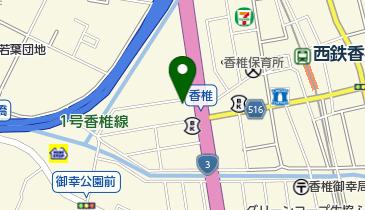 安川タクシーグループ無線共同配車センターの地図画像