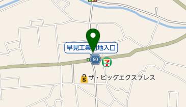 バニーキッスの地図画像