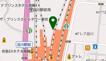 株式会社ジェイアール東海ツアーズ品川支店の地図画像