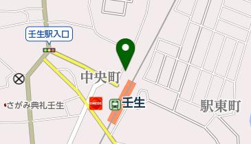 壬生観光タクシーの地図画像
